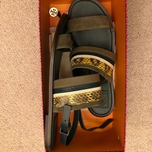 Tory Burch sandals!